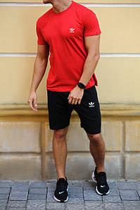Комплект шорти і футболка Adidas (Адідас) / Чоловічі спортивні шорти, майки