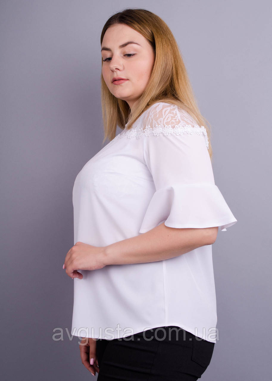Блузка Камелия белый