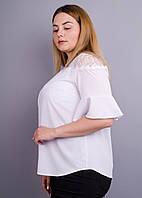 Блузка Камелия белый, фото 1