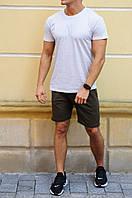 Мужские шорты цвет Хаки летние  / Спортивные костюмы на лето