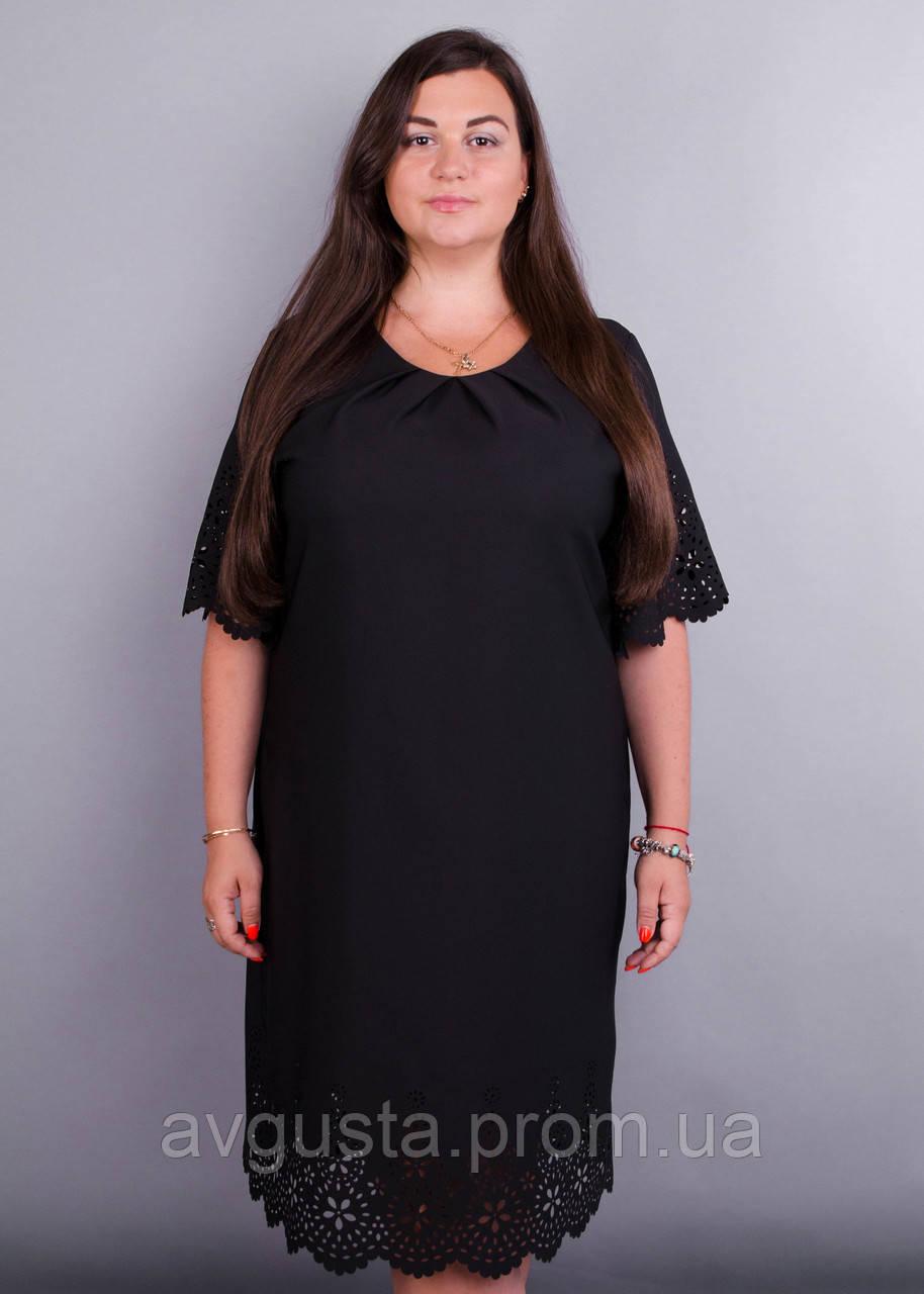 Платье Ажур черный