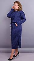Платье Леся синий, фото 1