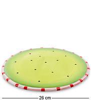 "Десертная тарелка ""Пудель"" 26 см., Pavone, Италия"