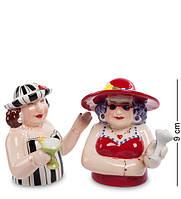 """Набор для специй соль-перец """"Подруги"""" 15x7,5x9 см., Pavone, Италия, фото 1"""