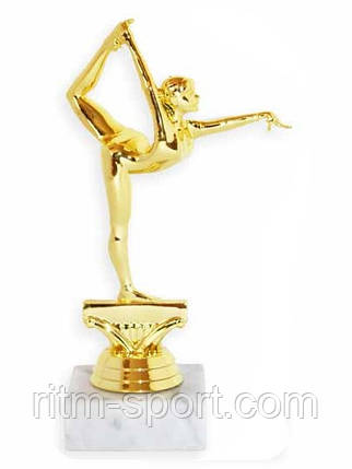 Гимнастка статуэтка на мраморе, фото 2