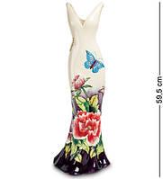 """Статуэтка-ваза напольная """"Платье"""" 59,5 см., фарфор Pavone, Италия"""