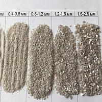 Кварцевый песок для фильтра фракция 0,8-1,2 мм Украина 25кг (ps0209002)