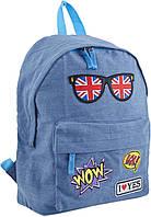 Рюкзак (ранец) школьный 1 Вересня Yes 553925 Jeans London ST-15 30*36*12см