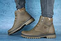 Мужские зимние ботинки на меху в стиле UDG, шерсть, натуральная кожа, оливковые *** 41 (27 см)