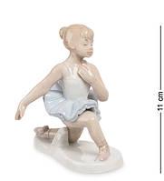"""Фигурка """"Балерина"""" 10,5x7,5x11 см., фарфор Pavone, Италия"""