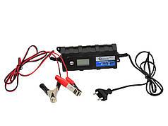 Зарядное устройство 6/12В, 1,2-120Ah 4,0 A с ЖК-дисплеем GEKO G80017