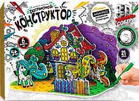 Конструктор 3D расписной DankoToys DT 3DK-01-02 Пони