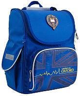 Рюкзак (ранец) 1 Вересня школьный каркасный Yes 553292 Oxford blue H-11 34*26*14см