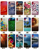 Чехол премиум качества с принтом Природа для Iphone XR 10R