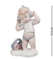 """Фигурка """"Мальчик"""" 9x6x13,5 см., фарфор Pavone, Италия, фото 1"""
