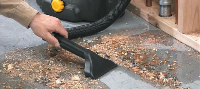 промышленный строительный пылесос для стружки