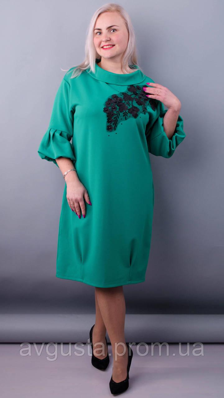 Платье Гледис бирюза
