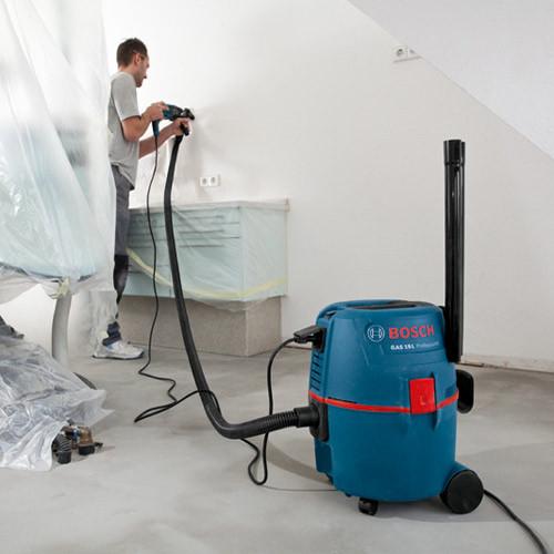 промышленный строительный пылесос