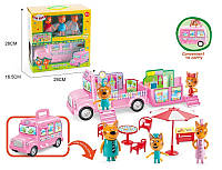 """Игровой набор М-8805 """"Три кота. Автобус для пикника"""""""