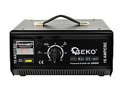 Зарядное устройство для аккумуляторов 6/12/24В, 15А GEKO G80006