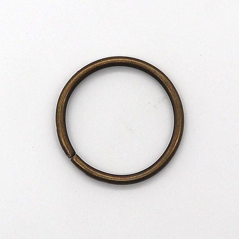 Кольцо 29x3 мм антик для сумок t4338 (50 шт.)