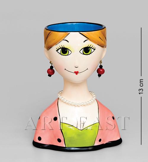 """Ваза """"Дама"""" 14 см., Pavone, Италия"""