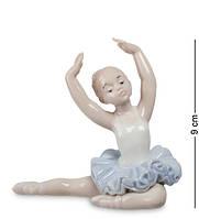 "Фигурка ""Юная балерина"" 9x4,5x9 см., фарфор Pavone, Италия"