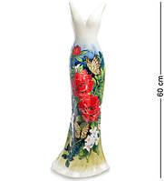 """Статуэтка-ваза напольная """"Платье"""" 61 см., фарфор Pavone, Италия"""