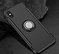 Противоударный бампер с магнитом и кольцом для Iphone 6 Plus