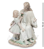 "Статуэтка ""Наставления Христа"" 11x11x16 см., фарфор Pavone, Италия"