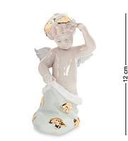 """Фигурка """"Рождественский ангел"""" 9,5x8,5x12 см., фарфор Pavone, Италия"""