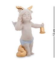 """Фигурка """"Рождественский ангел"""" 9x5,5x13 см., фарфор Pavone, Италия"""