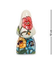 """Подставка для очков """"Анютины глазки"""" 4,5x4,5x10 см., фарфор Pavone, Италия"""