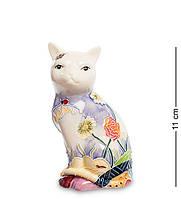 """Фигурка """"Кошка"""" 6x5,5x11 см., фарфор Pavone, Италия, фото 1"""