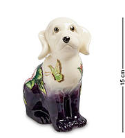 """Статуэтка-копилка """"Собака"""", 15x9x15 см., фарфор Pavone, Италия"""