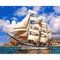Картина раскраска по номерам на холсте 40*50см Babylon VP899 Попутный ветер