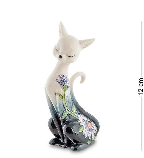 """Статуэтка """"Кошка"""" 6,5x4,5x12 см., фарфор Pavone, Италия"""