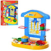 Дитяча кухня Техноком 2117) з посудом і технікою