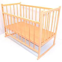 Дитяче ліжко-качалка дерев'яна (5759)