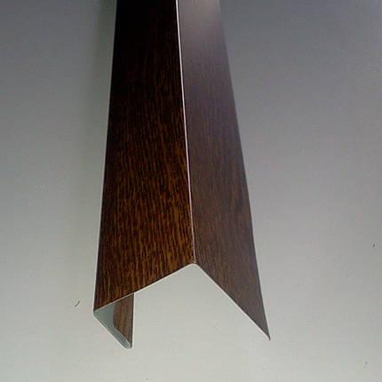 """Доборные элементы, комплектующие для металлосайдинга - """"j-профиль"""", фото 2"""