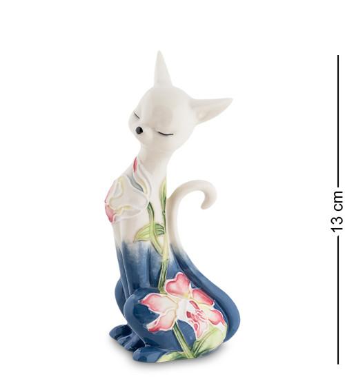 """Статуэтка """"Кошка"""" 6,5x4,5x13 см., фарфор Pavone, Италия"""