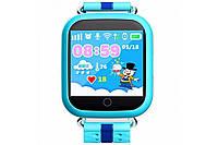 """Смарт часы детские умные Q100 Smart Baby Watch с GPS и Кнопкой SOS, 1.3"""" Цветной Сенсорный Дисплей"""