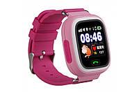 """Смарт часы детские умные  Q90 Smart Baby Watch с GPS и Кнопкой SOS, 1.3"""" Цветной Сенсорный Дисплей"""