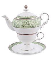 Чайный набор 150/450 мл., ''Соло Аделины'' фарфор Pavone, Италия