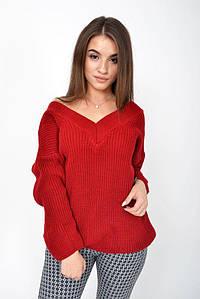 Свитер женский 103R008 цвет Красный