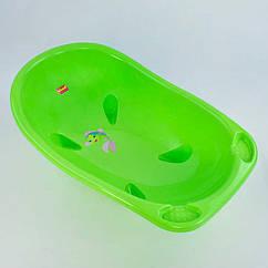 Детская ванночка для купания Bimbo (ST-3033) салатовый