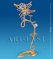 "Фигурка-композиция ""Бабочка на ветке"" 8x7,5x15 см., Crystal Temptations, США"
