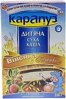 Каша безмолочная Карапуз овсяная с персиком 4820012000876 250 г