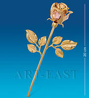 "Фигурка ""Роза"" 8,5x5x20 см., с цвет. крист. Crystal Temptations, США"