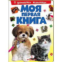 Детская книжка Пегас  А4 20,8*27,7см Моя первая книга, О домашних животных (рус) 135308